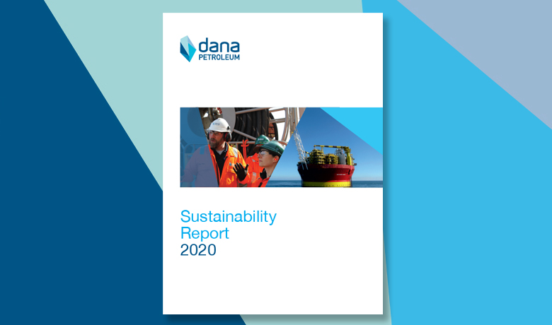 Dana Petroleum Sustainability Report front cover