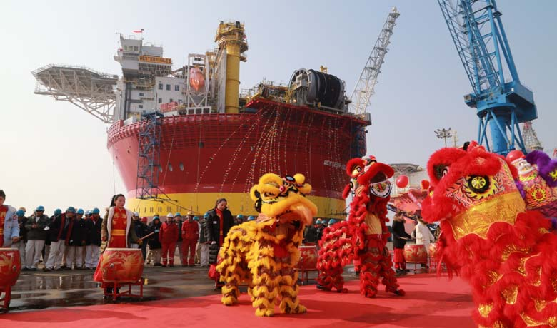 Western Isles FPSO Departure ceremony